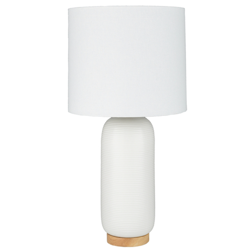 Pulp Home – Everly Table Lamp – White
