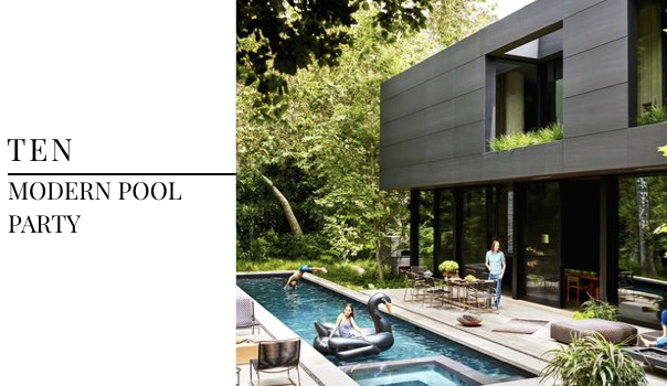 Best Summer Interior Design Trends 2018 - Modern Pool Design