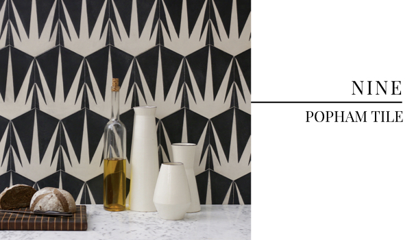 Best Summer Interior Design Trends 2018 - Popham Hex Tile