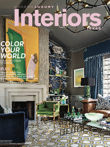 Modern Luxury Interiors Texas Summer 2018 Cover