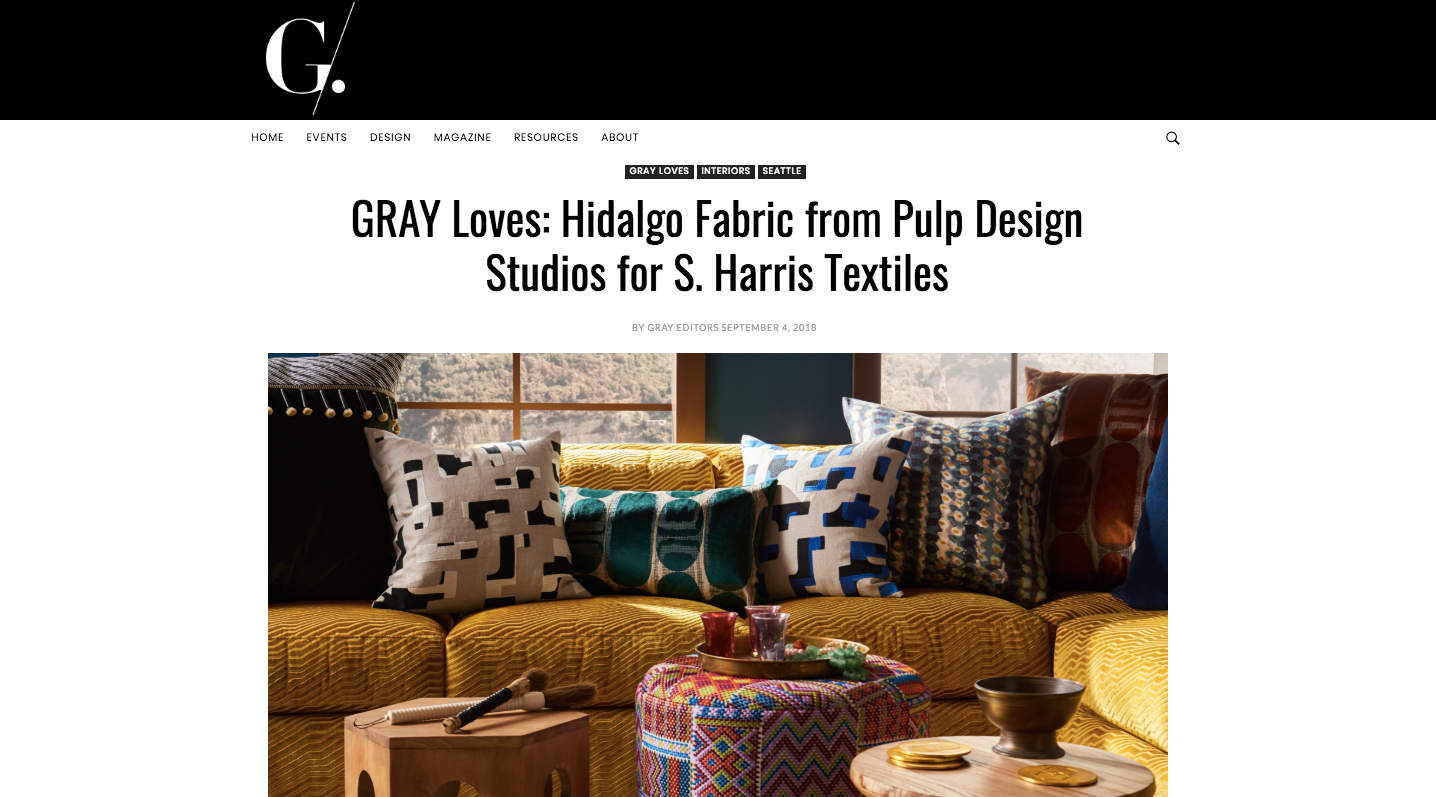 Gray Mag Online - Pulp for S. Harris - E