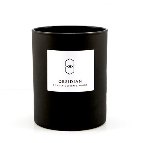 Obsidian Candle 7.5 oz