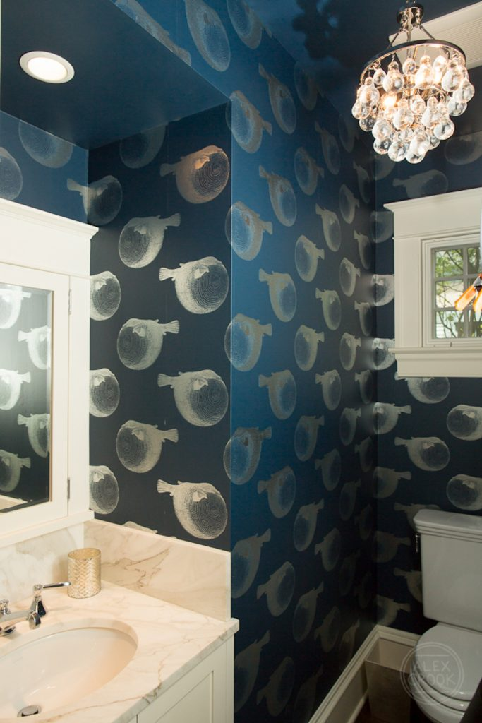 Powder Bathroom Interior Design - Pulp Design Studios - 5