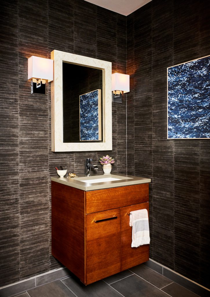 Powder Bathroom Interior Design - Pulp Design Studios - 6