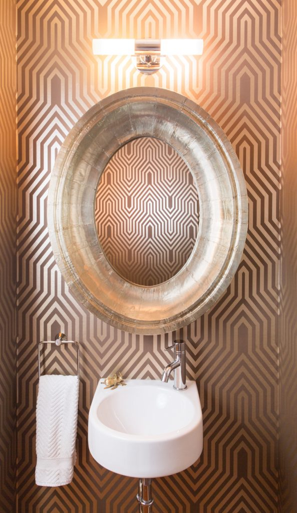 Powder Bathroom Interior Design - Pulp Design Studios - 7