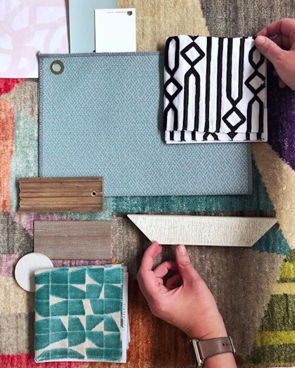 Pulp Design Studios for S. Harris Textile Scheme from Interior Designers