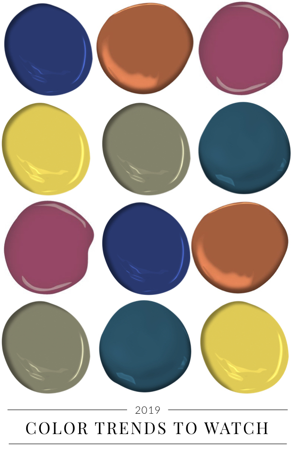 Paint Colors to Watch 2019