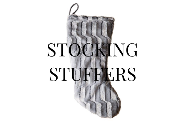 best gift guide for stocking stuffers, stylish stocking stuffer ideas