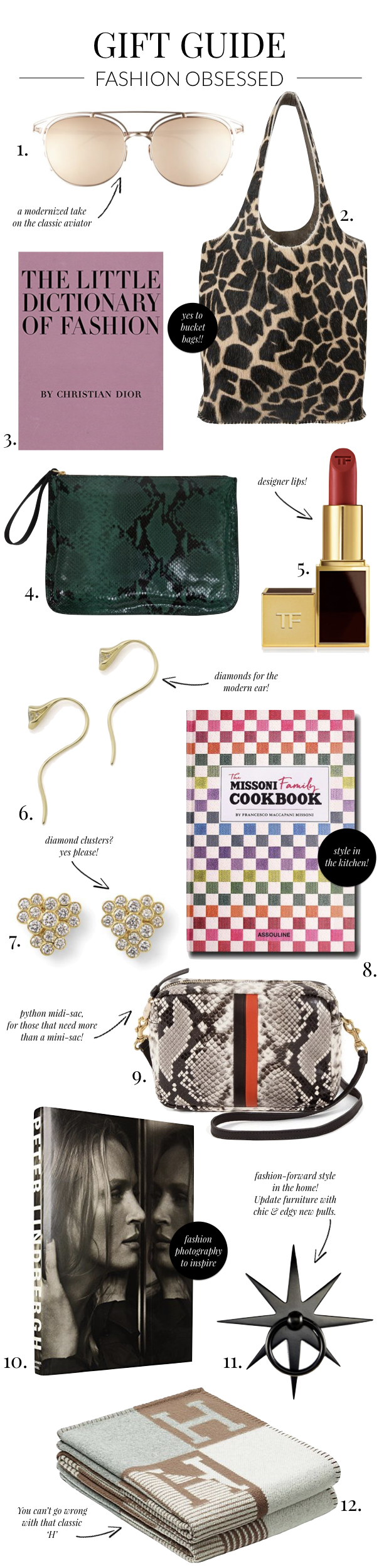 gift guide fashion lover 2018
