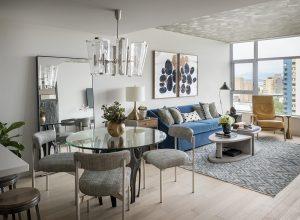 Pulp Design Studios Handsome Highrise - Living Dining