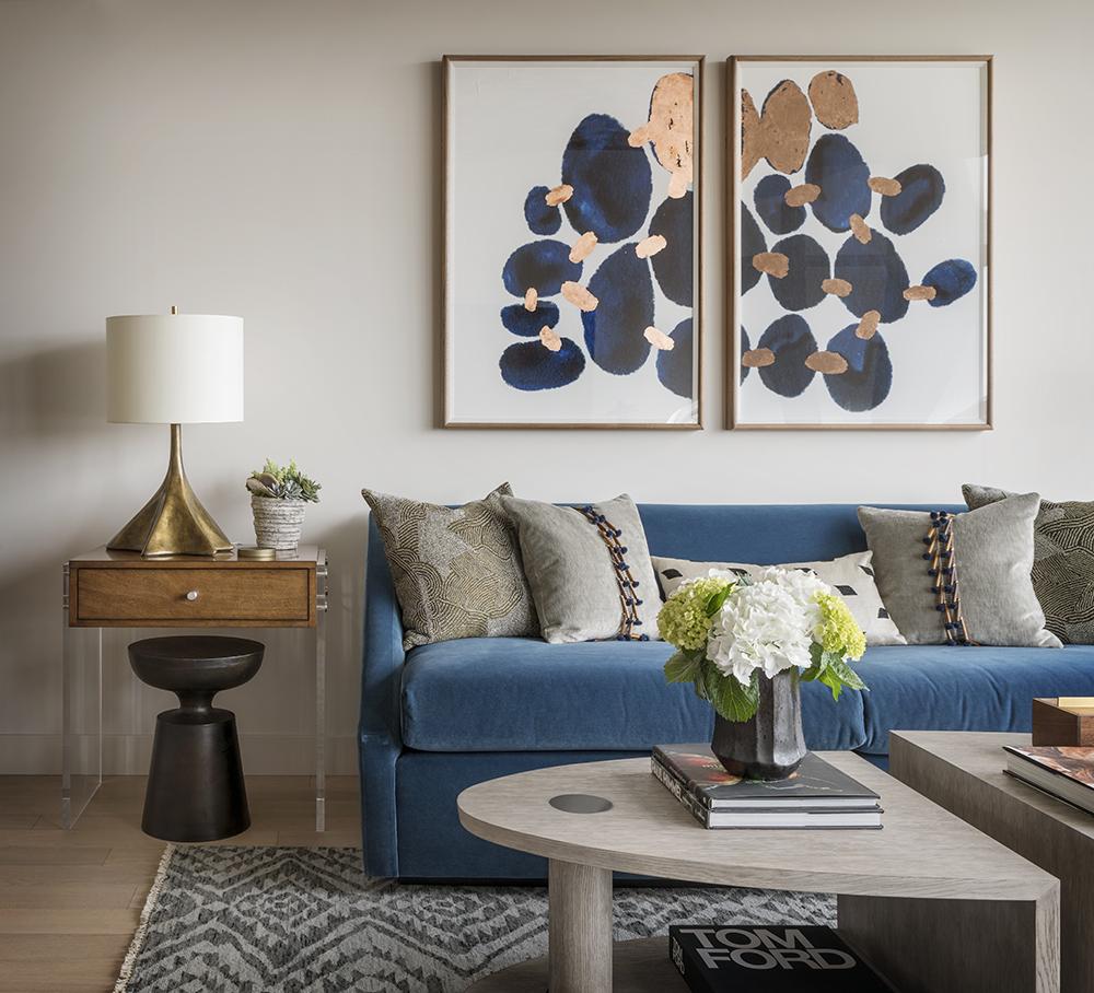Pulp Design Studios Handsome Highrise - Living Room 2