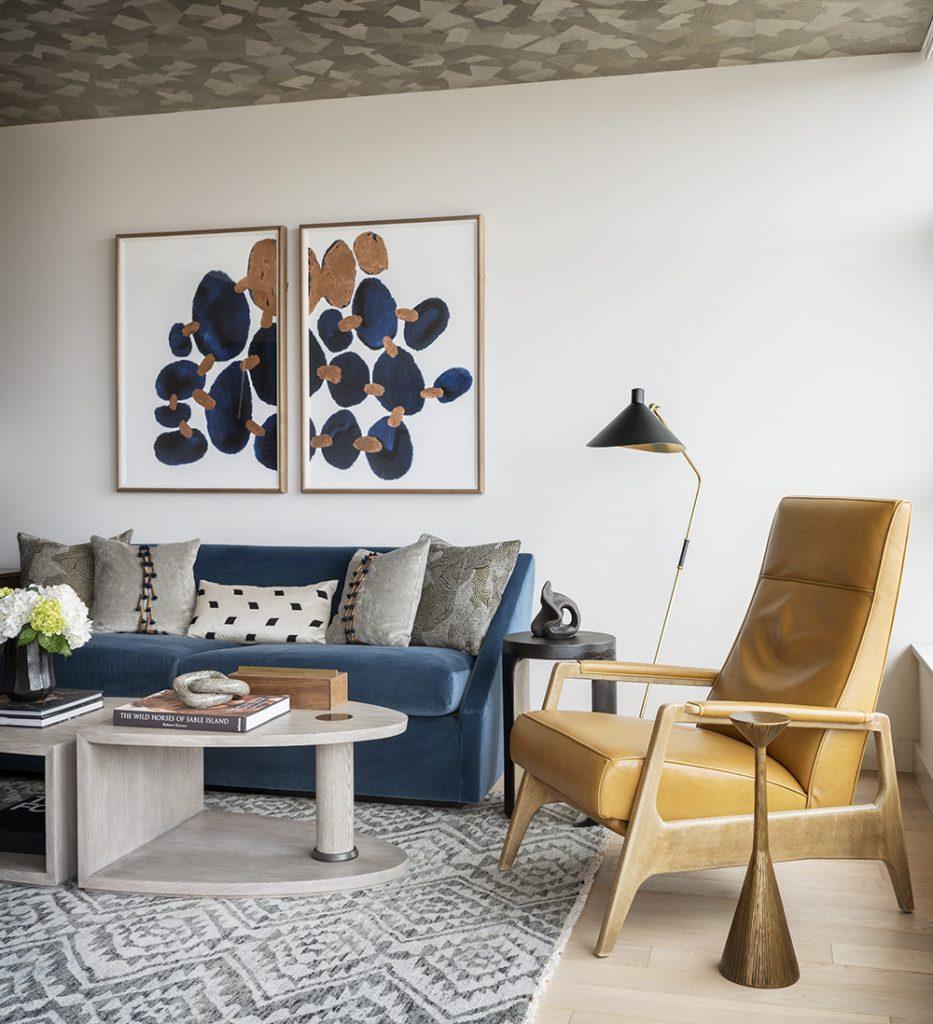 Pulp Design Studios Handsome Highrise - Living Room