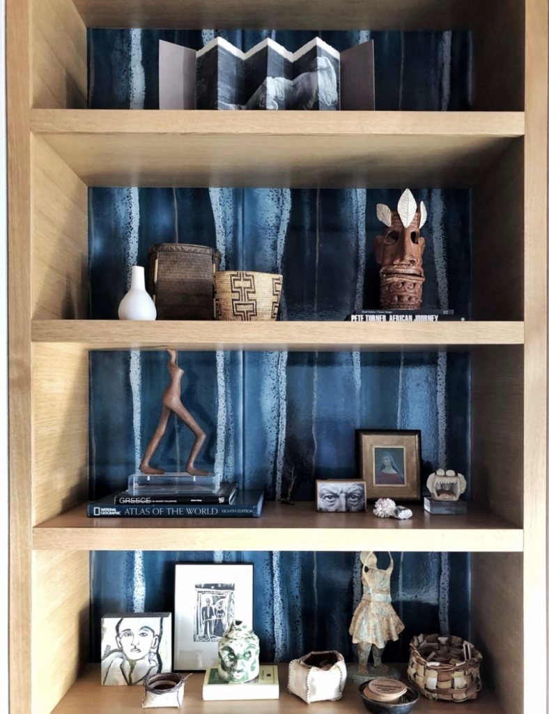 shelf, wallpaper, color, blue,