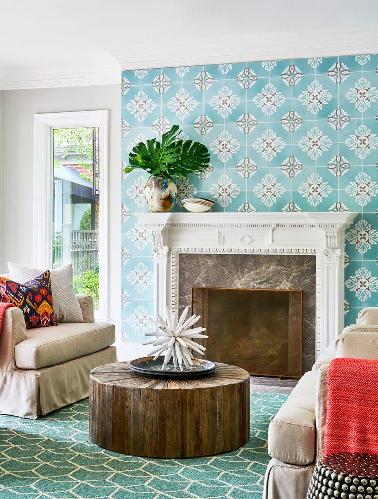 Pulp Design Studios -Eclectic Elegance - Deb Fireplace