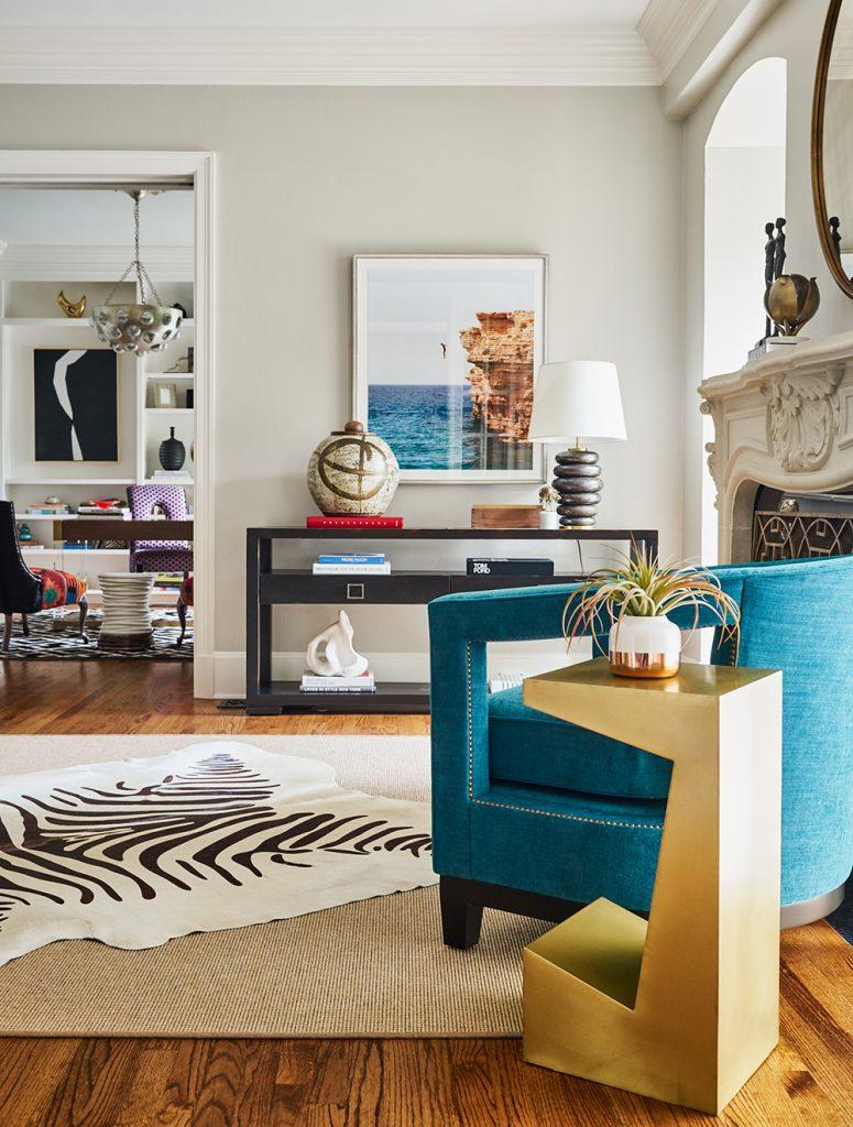Pulp Design Studios -Eclectic Elegance - Formal Living Room