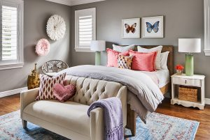 Pulp Design Studios -Eclectic Elegance - Girls Bedroom