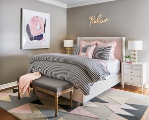 Pulp Design Studios -Eclectic Elegance - Girls Room 2