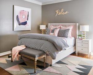 Pulp Design Studios -Eclectic Elegance - Girls Room 2