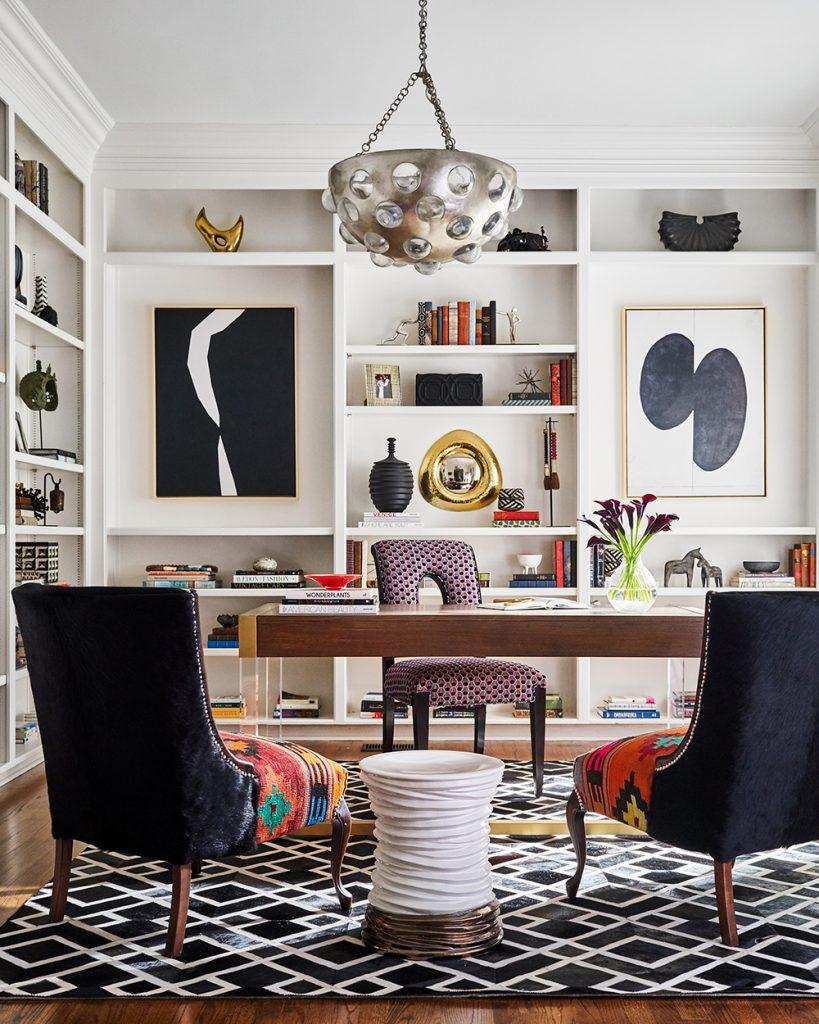 Pulp Design Studios -Eclectic Elegance - Home Office