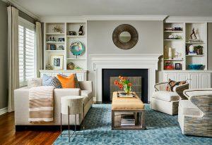 Pulp Design Studios -Eclectic Elegance - Master Sitting Room