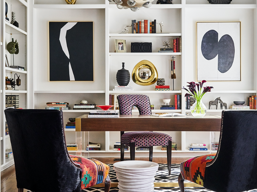 eclectic elegance interior design