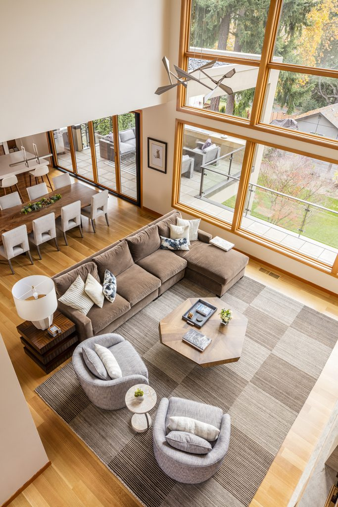 Pulp Design Studios - Lakeside Modern - Great Room