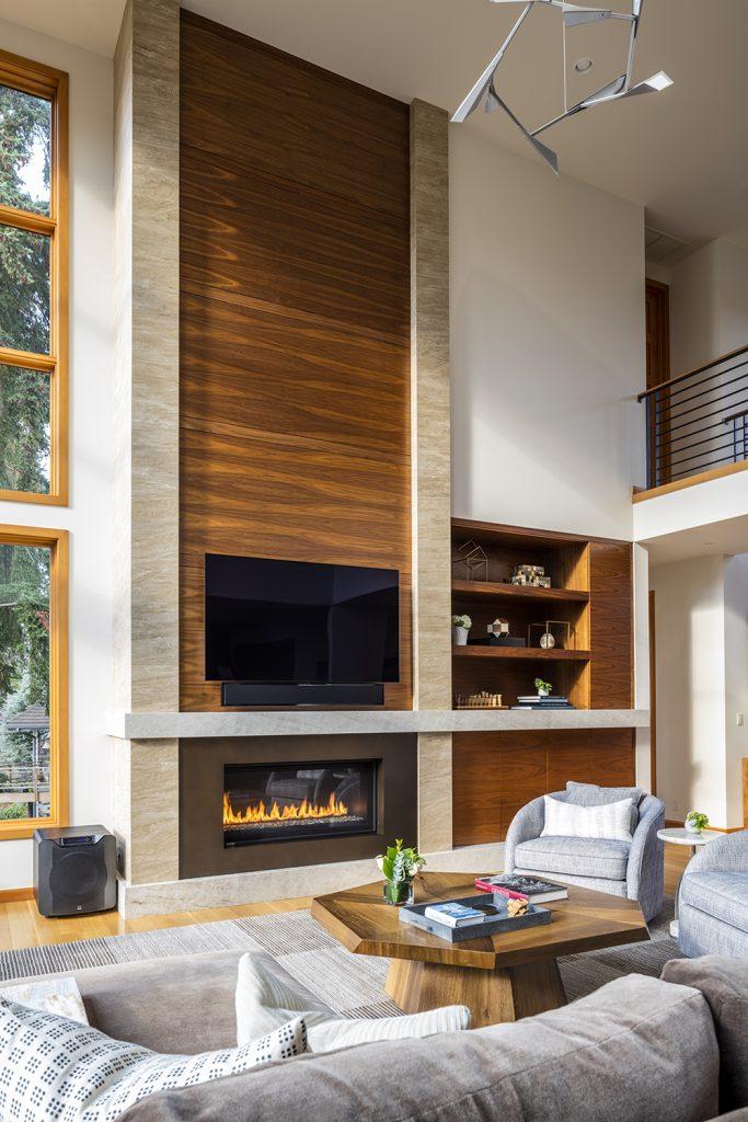 Pulp Design Studios - Lakeside Modern - Living Room