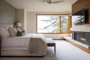 Pulp Design Studios - Lakeside Modern - Master Bedroom