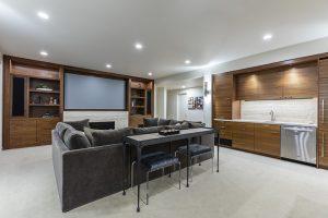 Pulp Design Studios - Lakeside Modern - Media Room