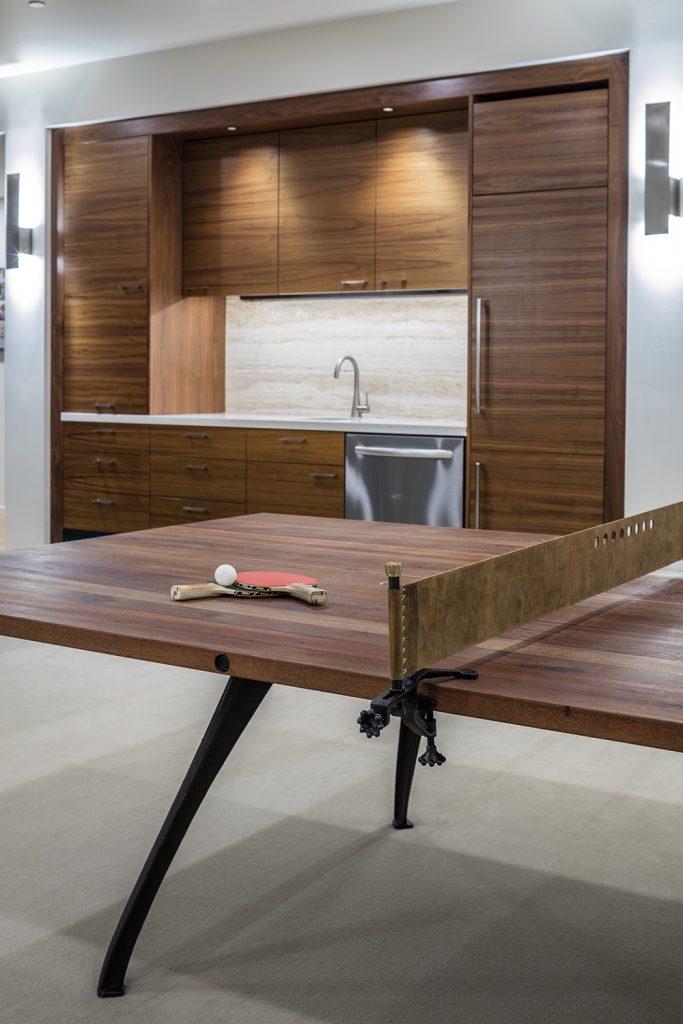 Pulp Design Studios - Lakeside Modern - Media Room Ping Pong