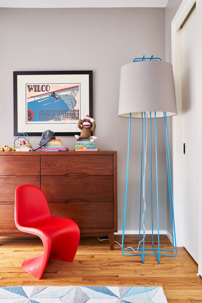 Pulp Design Studios - Mid-Century Makeover - Kids Room 2