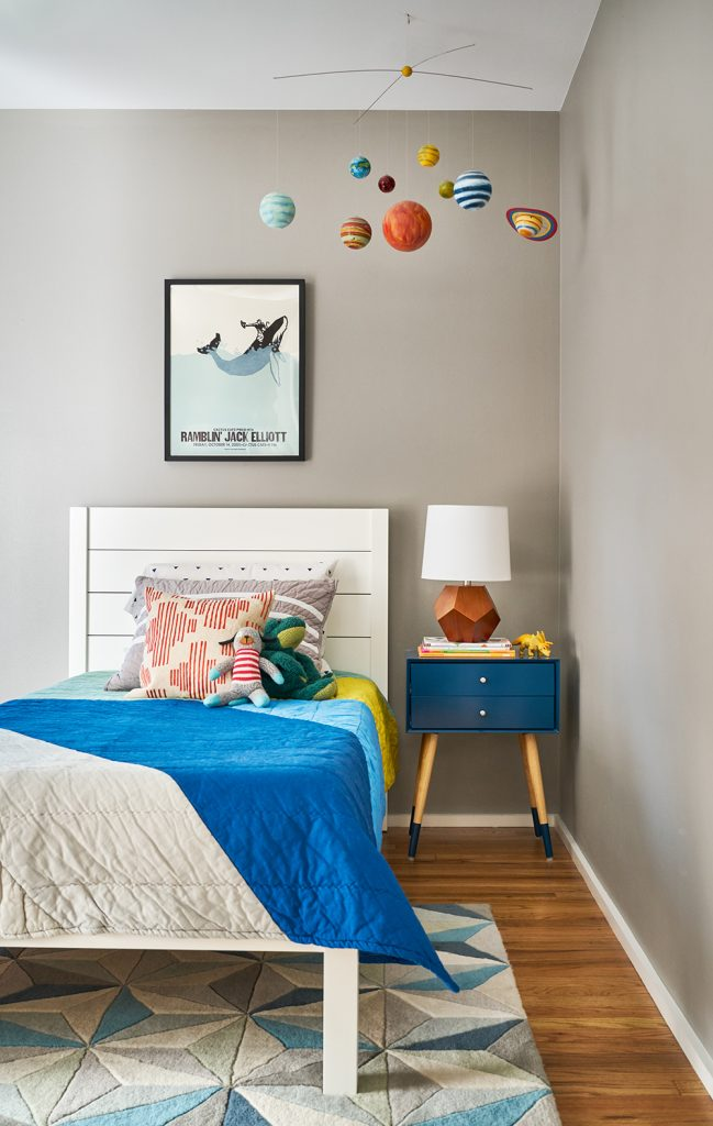 Pulp Design Studios - Mid-Century Makeover - Kids Room