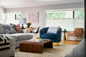 Pulp Design Studios - Mid-Century Makeover - Living Room