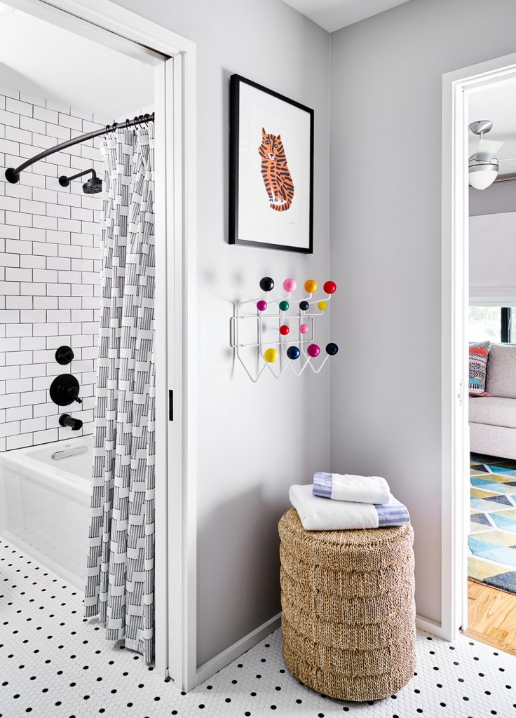 Pulp Design Studios - Mid-Century Makeover - Playroom Bathroom