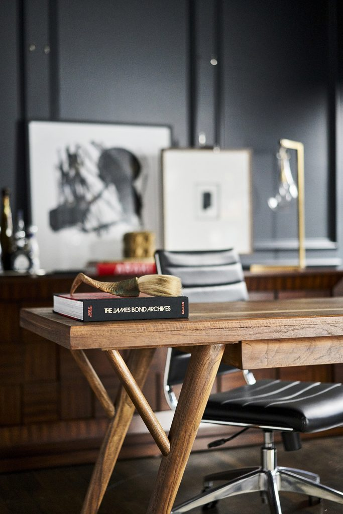 Pulp Design Studios - Classic with an Edge - Home Office Styling