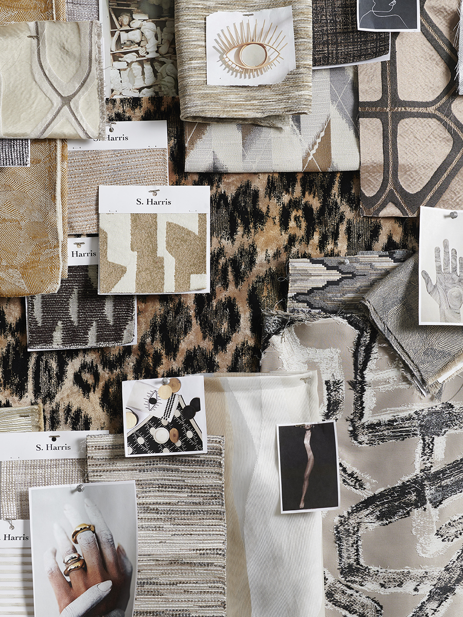 designer textile collection, neutral textiles, modern textiles